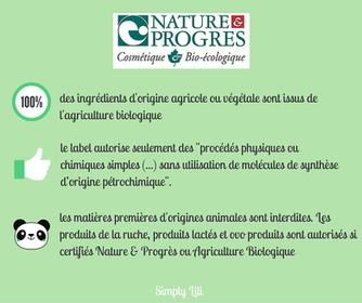 Comment comprendre les labels bio cosmétiques?