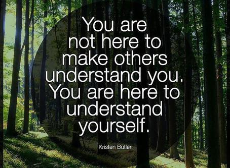 Being understood!