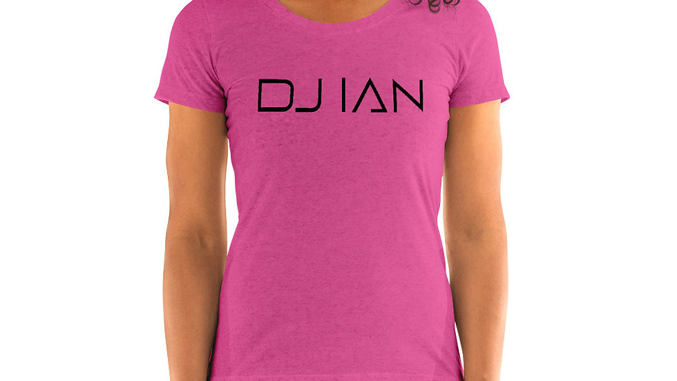 Official DJ Ian Ladies Bright Colors T-Shirt