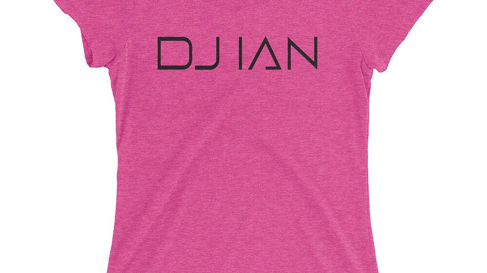 Official DJ Ian Ladies' Bright Colors Short-Sleeve T-Shirt
