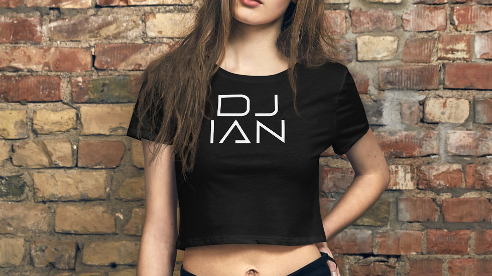 DJ Ian Women's Crop Tee