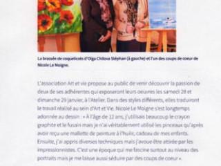Article du Télégramme du 19 janvier 2017