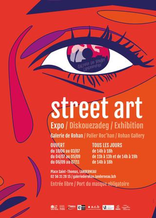 à Landerneau -  Expo Street Art - du 18 juin au 7 novembre 2021