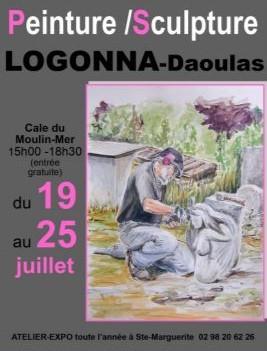 à Logonna-Daoulas - Exposition à la cale - du 19 au 25 juillet 2021