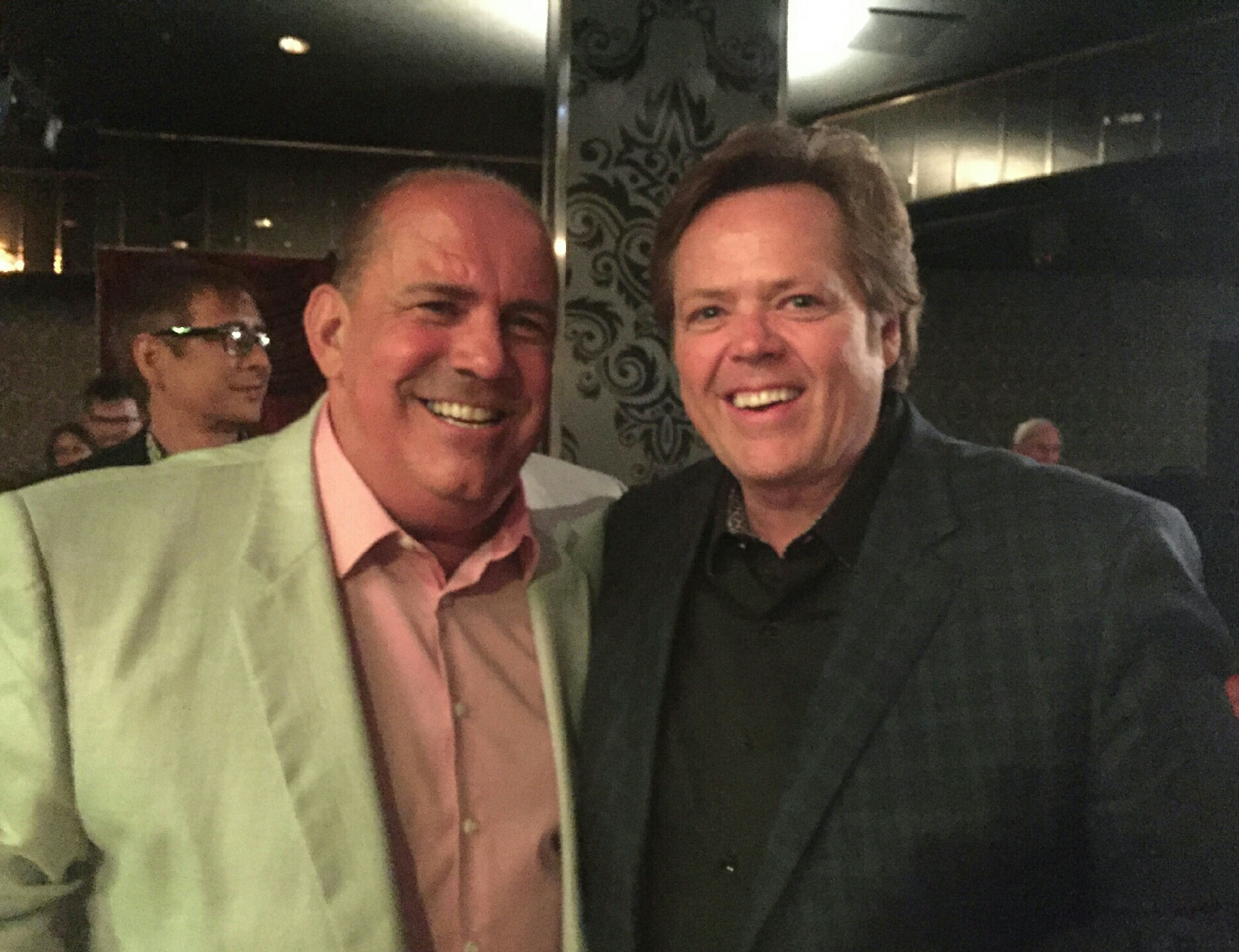 With Jimmy Osmond