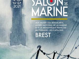 à Brest 45ème Salon de la Marine - du 19 juin au 19 septembre 2021