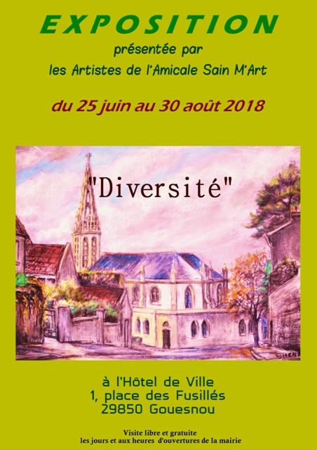 Expo Gouesnou Amicale Sain M'Art