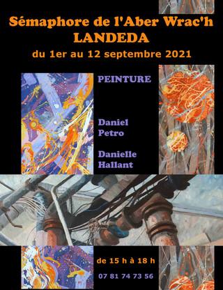 à Landéda - Exposition au Sémaphore - du 1er au 12 septembre 2021