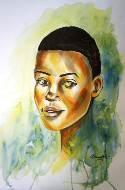 femme noire