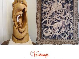 à Kersaint-Landunvez - Exposition de Peintures et sculptures - du 9 juillet au 4 août 2021