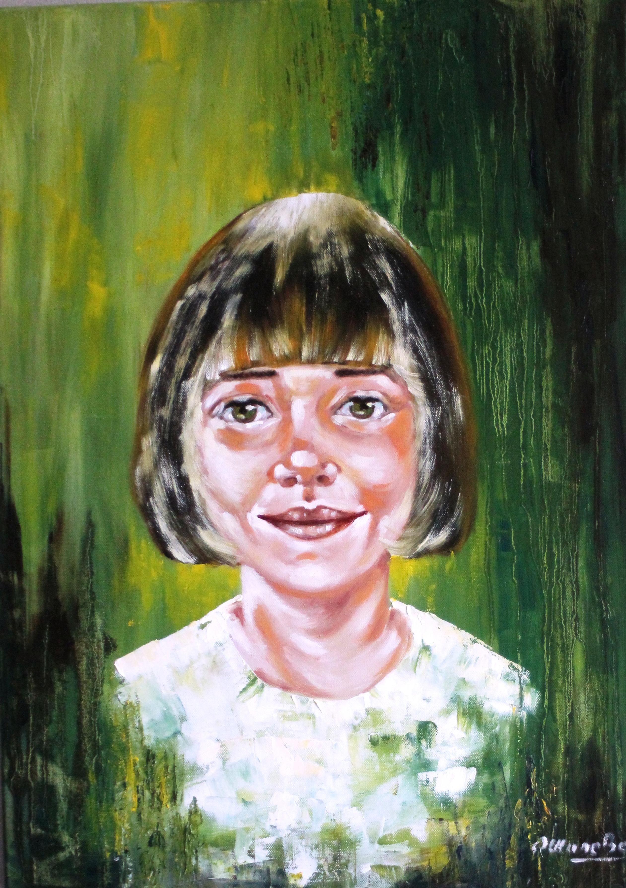 Jade Huile sur toile 50 X 70
