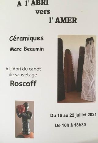 à Roscoff - Exposition Céramiques - du 16 au 22 juillet 2021
