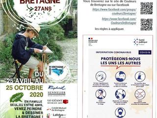 En Bretagne - 27ème année du Concours Couleurs de Bretagne - jusqu'au 25 octobre 2020