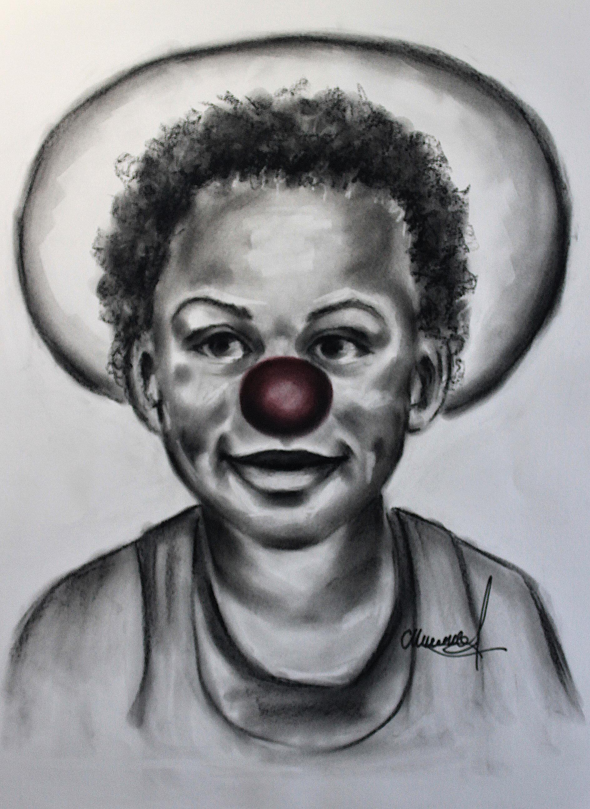 Ilouan en clown