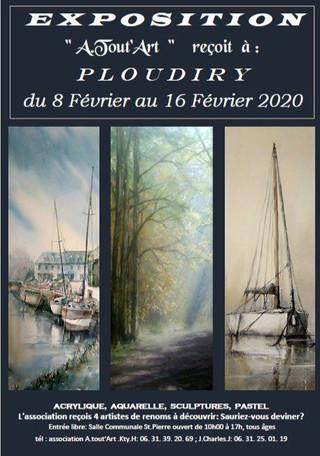A Ploudiry - Exposition A Tout'Art - du 8 au 16 février 2020
