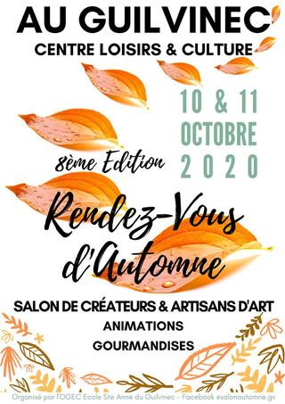 Au Guivinec - Rendez-vous d'automne - les 10 et 11 octobre 2020