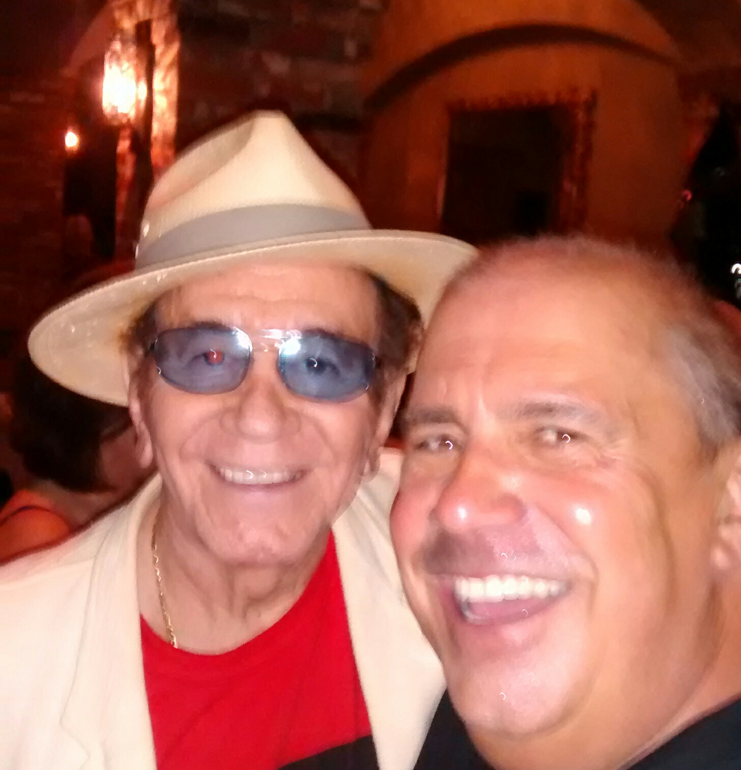 With Trini Lopez