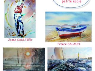 à Carantec, île Callot - Exposition Peintures - du 1er au 16 juillet 2020