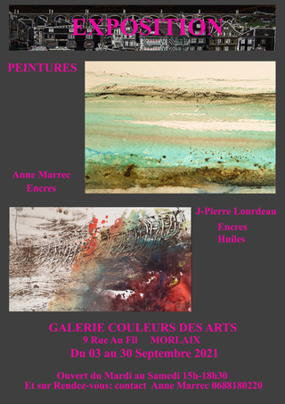 à Morlaix - Exposition de peintures - du 03 au 30 septembre 2021