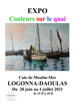 à Logonna-Daoulas - Exposition de Peintures - du 28 juin au 4 juillet 2021