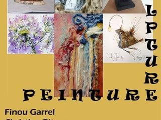 à Huelgoat - Exposition de peintures et de sculptures - du 15 au 21 juillet 2019