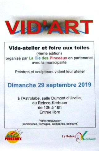 Au Relecq-Kerhuon - VID'ART - dimanche 29 septembre 2019