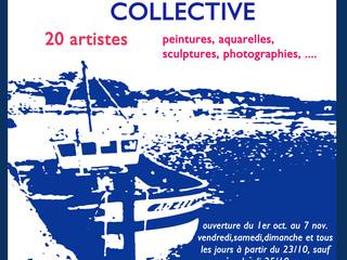 à Audierne - Grande Exposition Collective - du 1er octobre au 7 novembre 2021