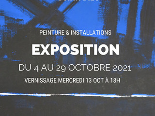 à Brest - Exposition - du 4  au 29 octobre 2021