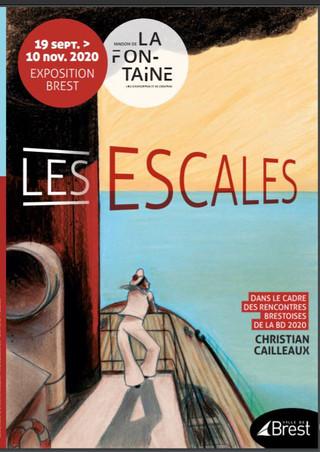 """à Brest - Exposition """"Les Escales"""" - du 19 septembre au 10 novembre 2020"""
