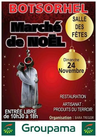 A Botsorhel - Marché de Noël - dimanche 24 novembre 2019