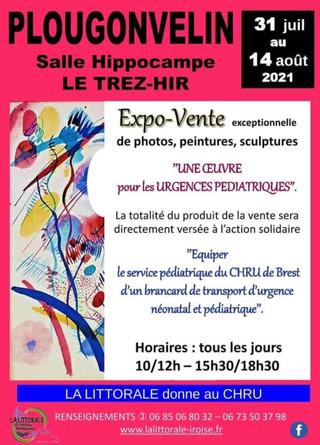 à Plougonvelin - Expo-vente - du 31 juillet au 14 août 2021