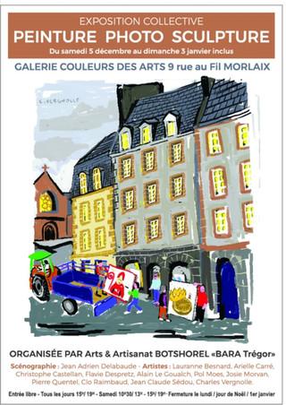 à Morlaix - Exposition Collective - du 5 décembre 2020 au 3 janvier 2021