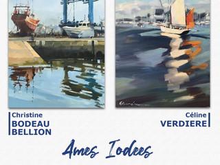 à Landéda - Exposition de peinture - du 18 au 29 août 2021