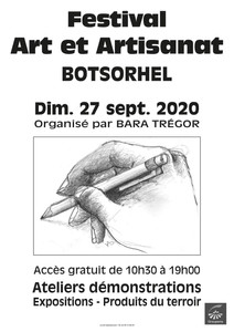 à Botsorhel - Festival Art et Artisanat - le 27 septembre 2020