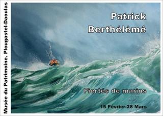 à Plougastel - Exposition de Patrick Berthélémé - du 15 février au 28 mars 2020