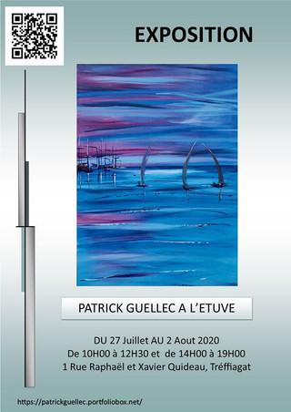 à Tréffiagat - Exposition de Peintures - du 27 juillet au 2 août 2020