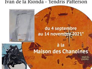 à Kersaint en Landunvez - Exposition maison des Chanoines - du 04 septembre au 14 novembre 2021