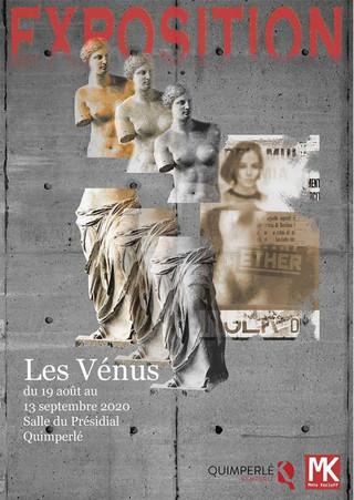 """à Quimperlé - Exposition """"Venus"""" - du 19 août au 13 septembre 2020"""