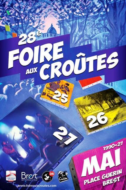 28ème Foire aux croûtes de Brest