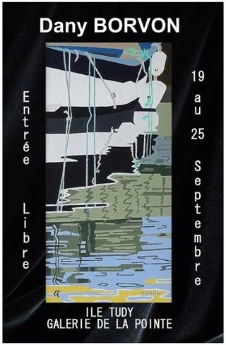 à l'Île Tudy - Exposition Dany BORVON - du 19 au 25 septembre 2019