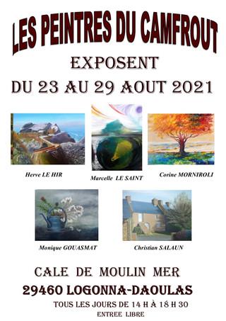 à Logonna-Daoulas - Exposition à la cale - du 23 au 29 août 2021