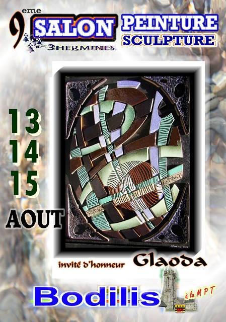 affiche 9ème salon de Bodilis 29