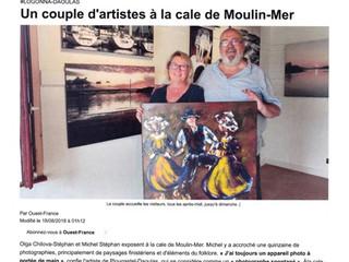Expo cale de Moulin-Mer Logonna-Daoula été 2018
