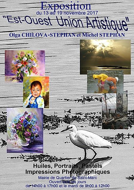 Expo de Michel STEPHAN et Olga CHILOVA