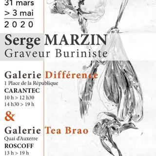 à Carantec et à Roscoff - exposition serge Marzin - du 31 mars au 3 mai 2020