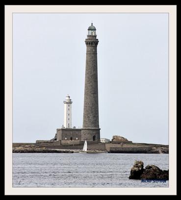 Le phare de l'île vierge - Lilia Plouguerneau