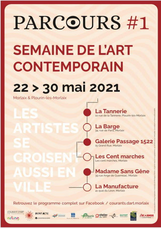 Pays de Morlaix - Semaine de l'Art contemporain - du 22 au 30 mai 2021