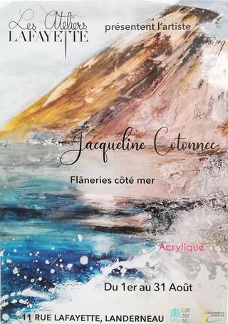à Landerneau - Exposition de peintures - du 1er au 31 août 2021