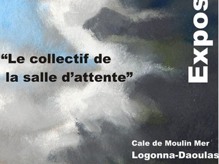 à Logonna-Daoulas 6exposition à la Cale - du 10 au 16 juillet 2021