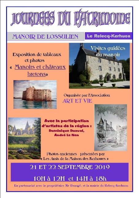 Journée européeenne du patrimoine Le relecq Kerhuon